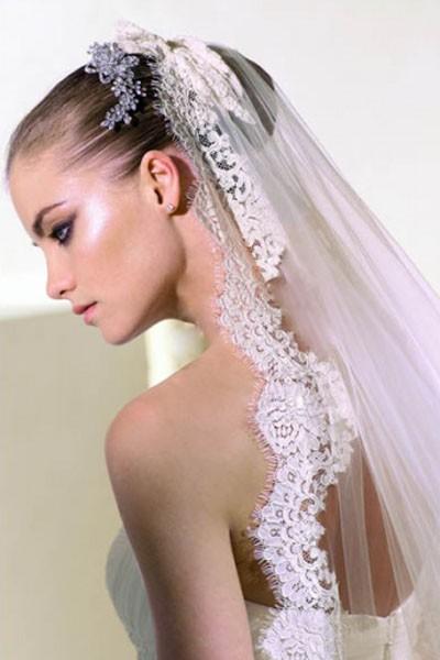 svatební účesy se závojem v BeautyShape