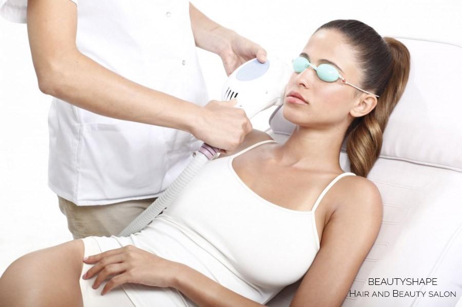 Trvalá depilace laserem a fotoepilace