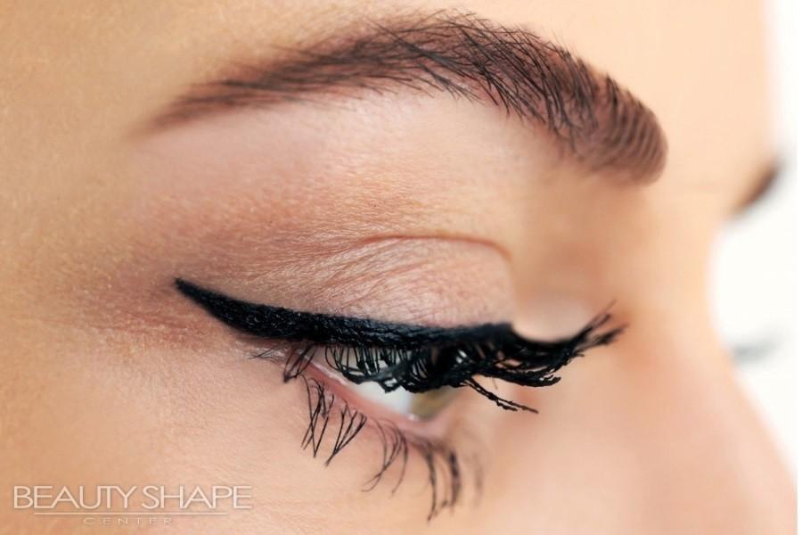 Permanentní makeup oční linky v BeautyShape Praha