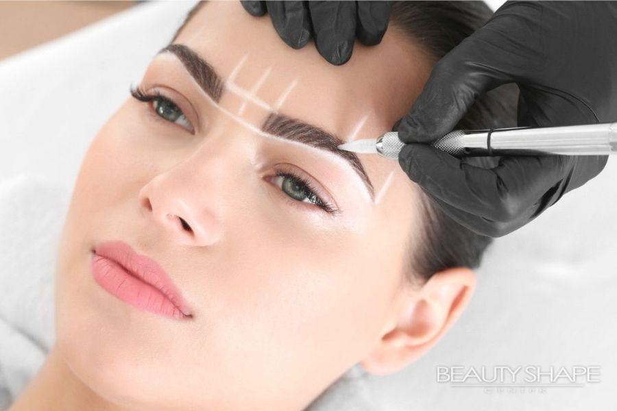 Permanentní makeup a tetování obočí v BeautyShape Praha