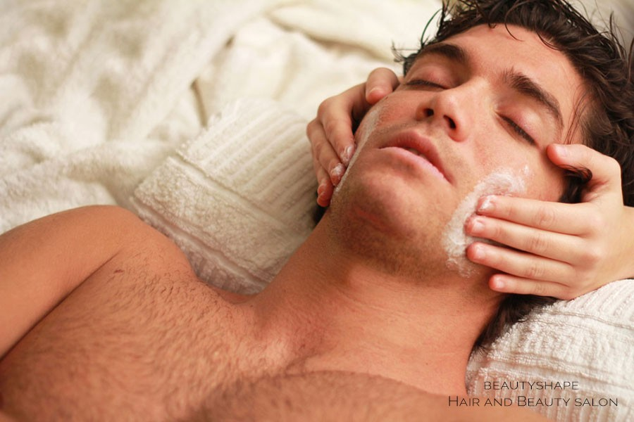 Male facial treatments in Prague