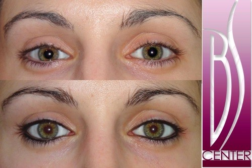 Permanentní make up oční linky