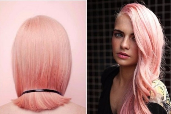 Rose Quartz hair