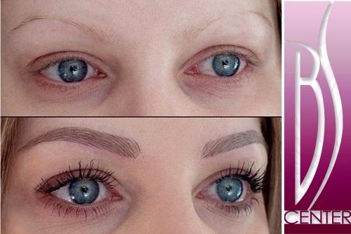 Permanent Makeup  3D Microblading eyebrow tattoo