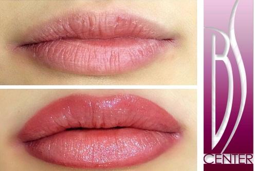 0ed5aace Permanent lips & lip liner. Aquarelle lips tattoo makeup ...