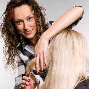 Hair salon consultation