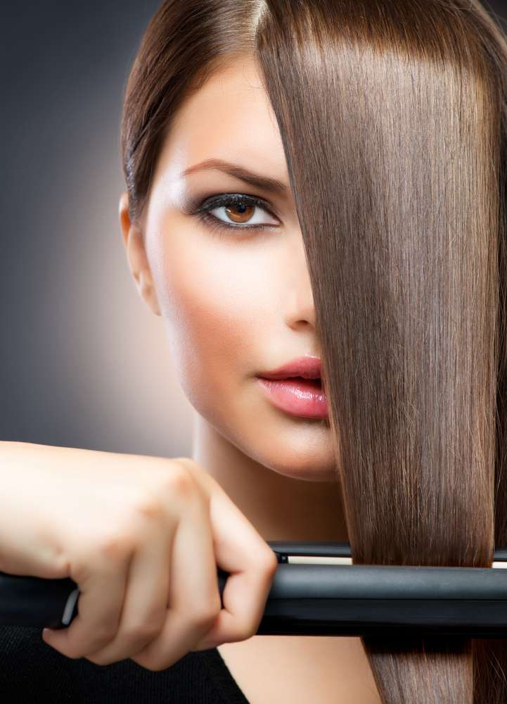 photo brazilian keratin therapy