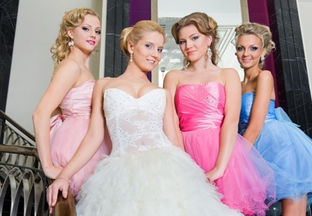 Party and prom updo hairstyles in Prague