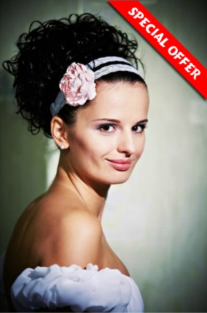 Special Offer Bridal hair updos Prague in prague