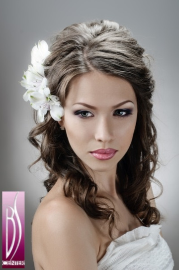 photo bridal wedding hairstyle salon