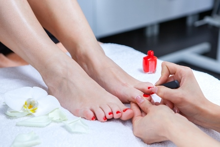 photo best pedicure in prague