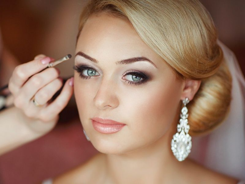 photo wedding make up, bridal makeup in Prague