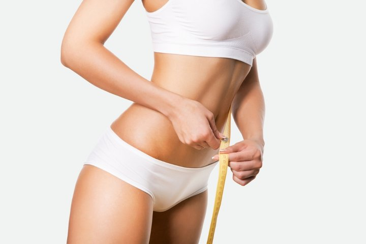 To lose weight without liposuction
