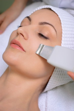 ultrasound face cleansing